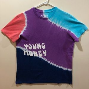 American Eagle x Young Money Tie Dye Shirt, Large
